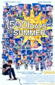 Official movie poster for 500 Days of Summer