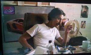 McConaughey shooting one of many motel scenes.