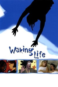 Official movie poster for Waking Life (2001)