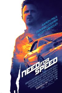 Need For Speed Official movie poster