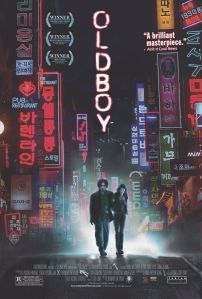 One of the official Oldboy movie posters