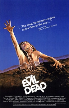 The Evil Dead official movie poster.