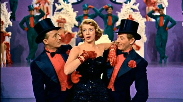 white christmas left to right bing crosby rosemary clooney and danny kaye performing mr bones - Danny Kaye White Christmas